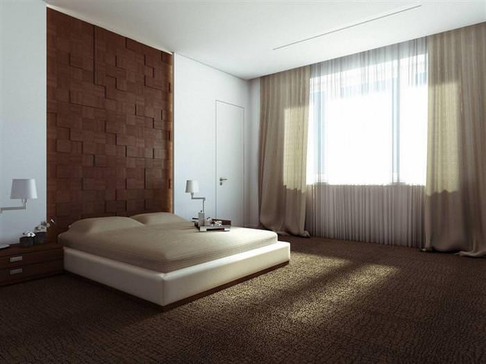 Спальня в стилі мінімалізм +50 прикладів інтерєру на фото 55dfde0f9b2cf