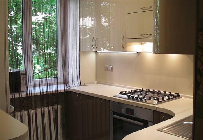дизайн кухні 5 кв м плануємо інтерєр 65 фото прикладів